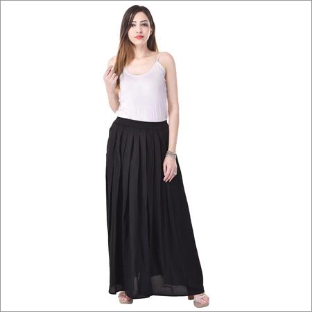 Ladies Long Designer Skirt