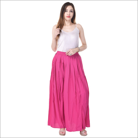 Ladies Casual Wear Long Skirt
