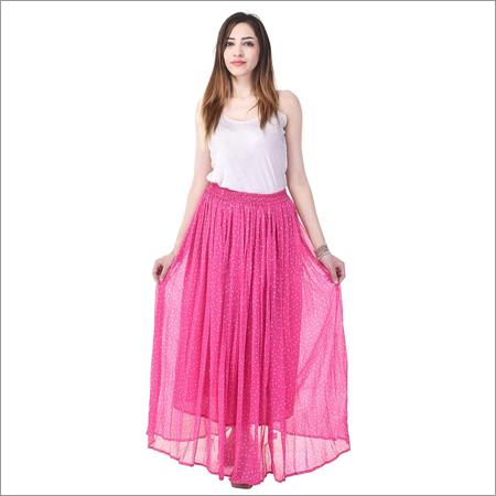 Ladies Netted Long Skirt