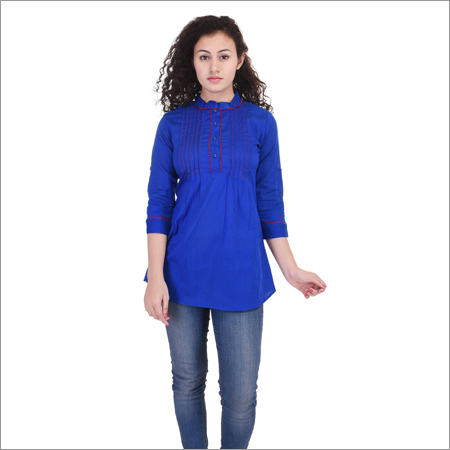 Ladies Blue Tunic