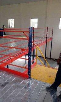 Mezzanine Flooring Storage Solution