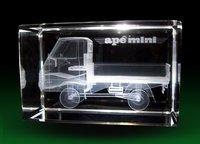 3D Laser Engraved Truck Model
