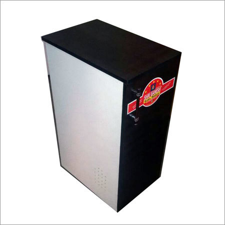Black Coated Atta Chakki Cabinet
