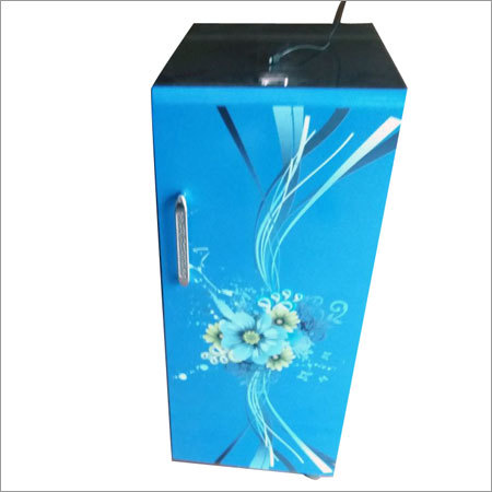 Blue Wood Body Atta Cabinet