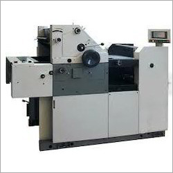 Single Color Offset Paper Printing Machine