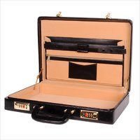 Hard Craft Super India Briefcase Black BCHC003BL