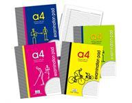 80 Pages A4 Examination Notepad