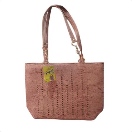 Beige Designer Hand Bag
