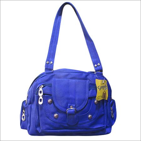 Blue Ladies Backpack Bag