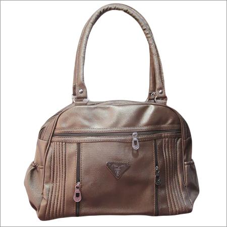 Dark Brown Ladies Backpack Bag