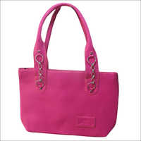 Light Pink Designer Hand Bag