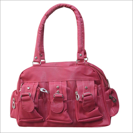Pink Colour Hand Bag