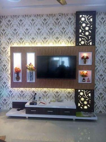 Plywood TV Unit