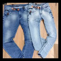 stylish shaded mens jeans