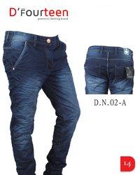 stylish shaded mens jeans