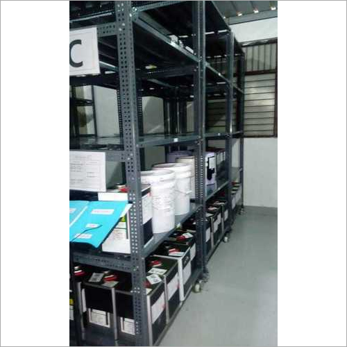 Slotted Angle Section Panel Racks