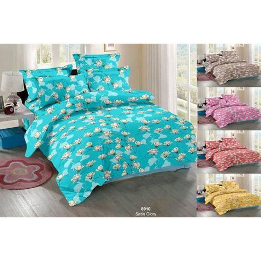 Floral Print Bed Sheet