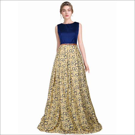 Ladies printed Gowns