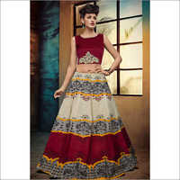 Ladies Jyoti Red Lehenga