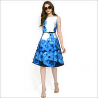 Ladies Eliza Blue Dress