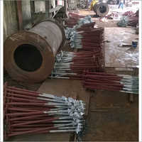 Foundation Bolts Partly Galvanised