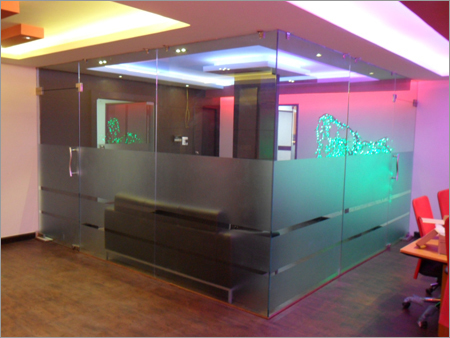 Toughened  Glass Cabin