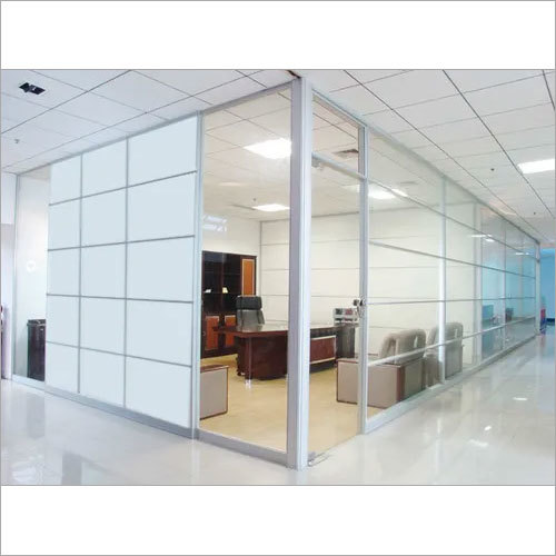 Division Office Partition Wall Glass