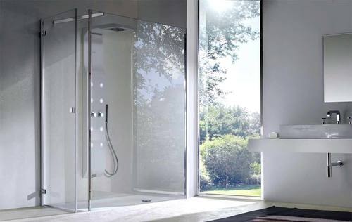 Washroom Toughened Partition Glass