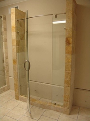 Glass Toilet Cubicles Partition