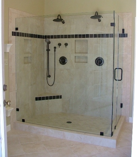 Toughened Glass Shower Enclosure