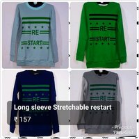 Long Sleeve Stretchable T-Shirts