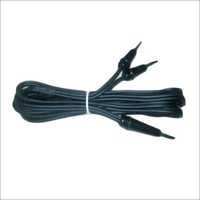 Patient Plate Black Cable