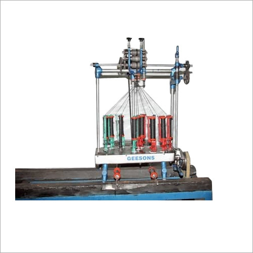 9 Carrier Semi High Speed Braiding Machine