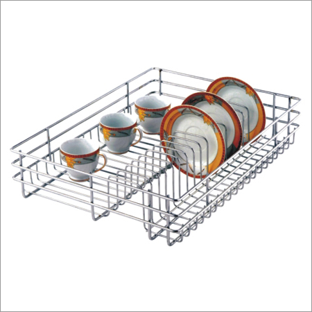 Cup Saucer Partition Basket