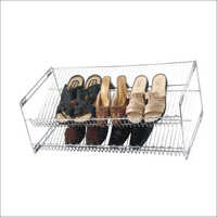 Double Row Shoe Rack