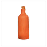 1 Ltr Clay Water Bottle With Cork