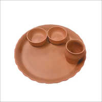 Clay Dinner Plate Set