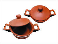 1.5 Ltr. Clay Cooking Pot