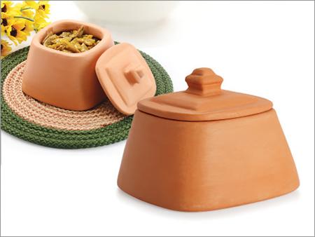 Clay Pickle Jar