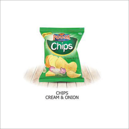 Cream & Onion Flavoured Potato Chips