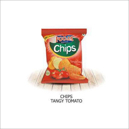 Tangy Tomato Flavour Potato Chips