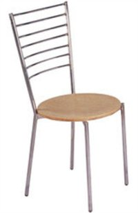 STEEL CAFETERIA CHAIR