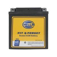 Hella Ff48 010.021-491 Heltx25 Fit N Forget 5ah Motorbike Battery