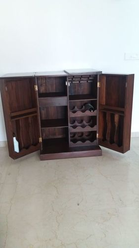 Antique Wooden Bar Cabinet