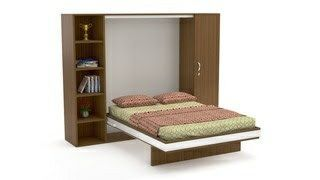 Plywood Wall Bed