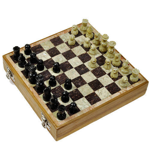 Wooden Marble Chess Board