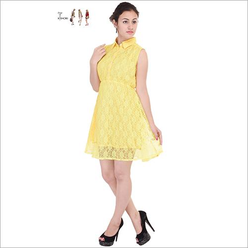 Ladies Net One Piece Dress