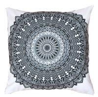 Digital Printed Mandala Design Cushion Cover