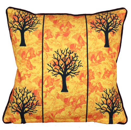 Digital Printed Tree Design Cushion Cover