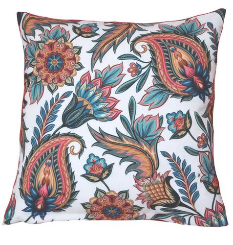 Digital Floral Print Cushion Cover